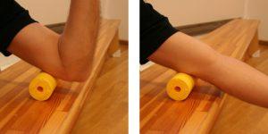 Massage bei Stillstand der Rolle